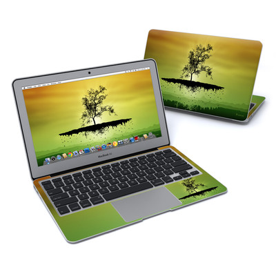 MacBook Air 11in Skin - Flying Tree Amber