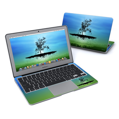 MacBook Air 11in Skin - Flying Tree Blue