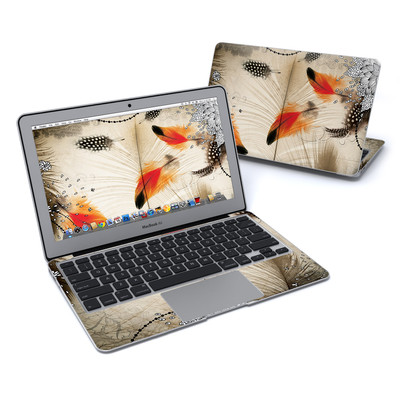 MacBook Air 11in Skin - Feather Dance