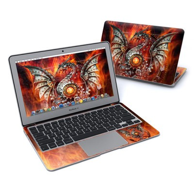 MacBook Air 11in Skin - Furnace Dragon