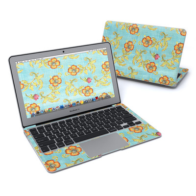 MacBook Air 11in Skin - Garden Jewel