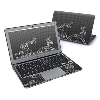 MacBook Air 11in Skin - Gear Wheel