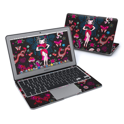 MacBook Air 11in Skin - Geisha Gal