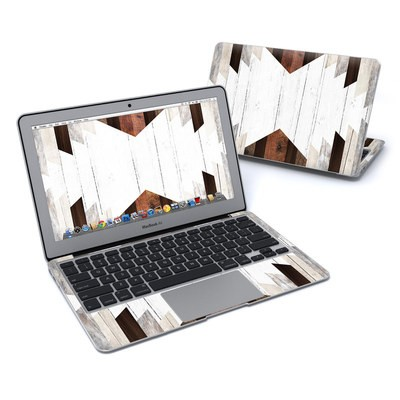 MacBook Air 11in Skin - Geo Wood