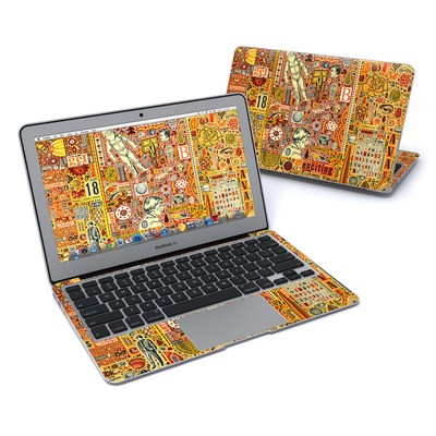 MacBook Air 11in Skin - The Golding Time