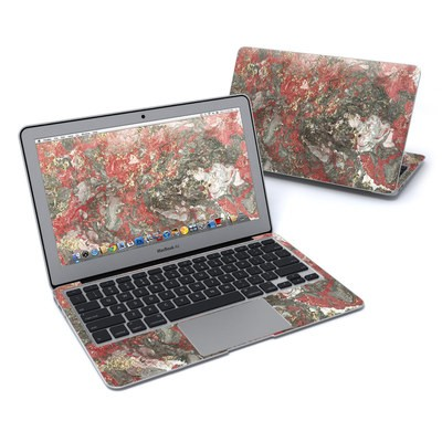 MacBook Air 11in Skin - Gilded Magma Marble