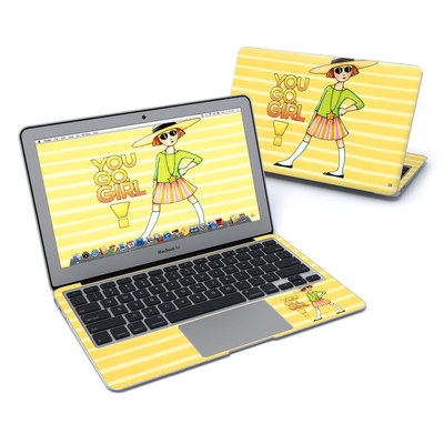 MacBook Air 11in Skin - You Go Girl