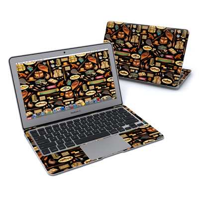 MacBook Air 11in Skin - Gone Fishing