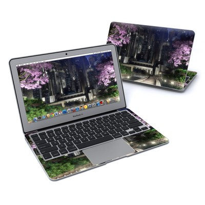 MacBook Air 11in Skin - Gotham Garden