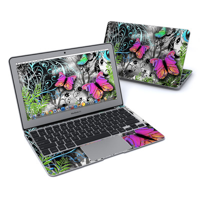 MacBook Air 11in Skin - Goth Forest