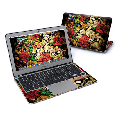 MacBook Air 11in Skin - Gothic Tattoo