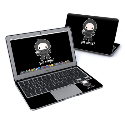 MacBook Air 11in Skin - Got Ninja