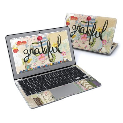 MacBook Air 11in Skin - Grateful
