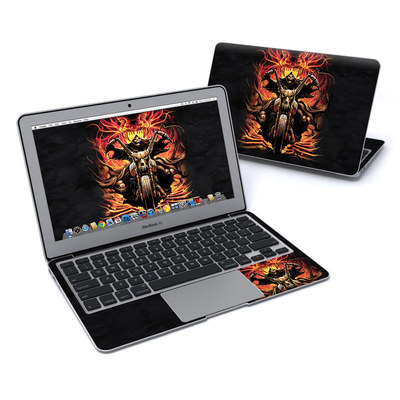 MacBook Air 11in Skin - Grim Rider