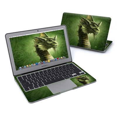 MacBook Air 11in Skin - Green Dragon