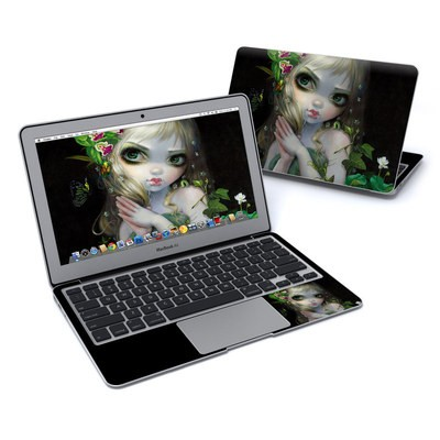 MacBook Air 11in Skin - Green Goddess
