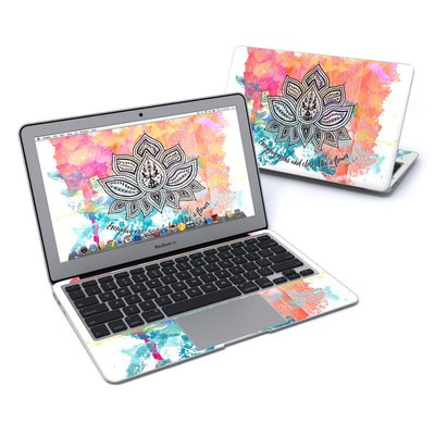 MacBook Air 11in Skin - Happy Lotus