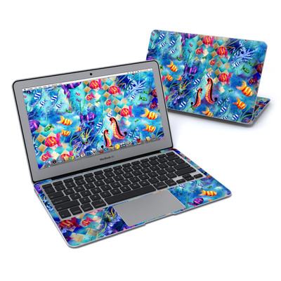 MacBook Air 11in Skin - Harlequin Seascape