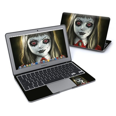 MacBook Air 11in Skin - Haunted Doll