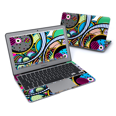 MacBook Air 11in Skin - Hula Hoops