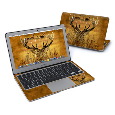 MacBook Air 11in Skin - Hiding Buck