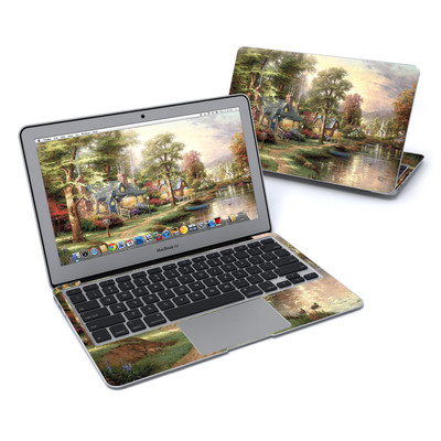 MacBook Air 11in Skin - Hometown Lake