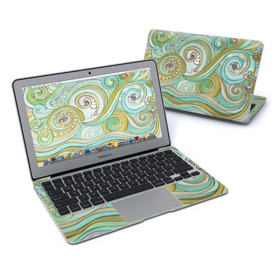 MacBook Air 11in Skin - Honeydew Ocean