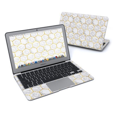 MacBook Air 11in Skin - Honey Marble
