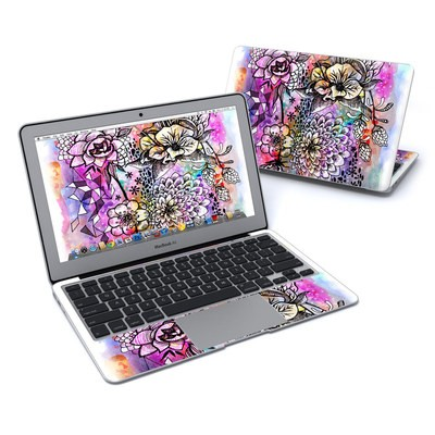 MacBook Air 11in Skin - Hot House Flowers