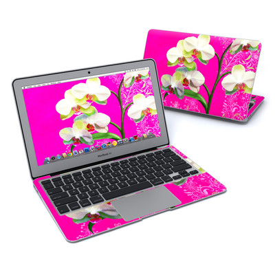 MacBook Air 11in Skin - Hot Pink Pop