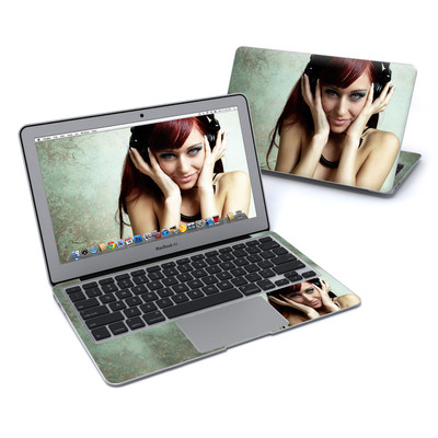 MacBook Air 11in Skin - Headphones