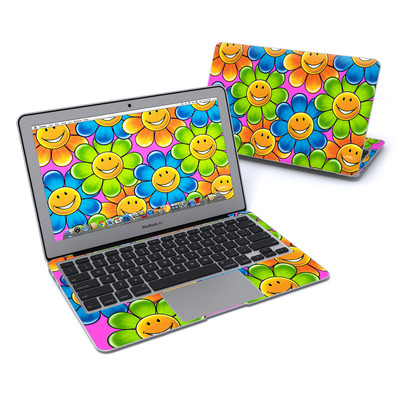 MacBook Air 11in Skin - Happy Daisies
