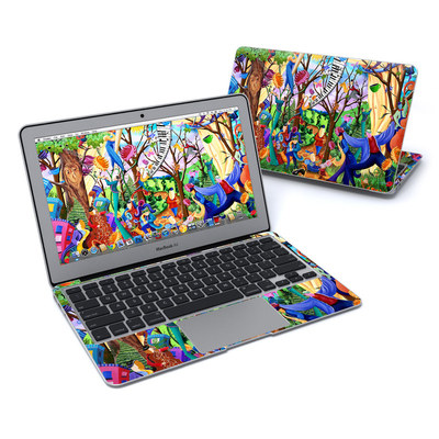 MacBook Air 11in Skin - Happy Town Celebration