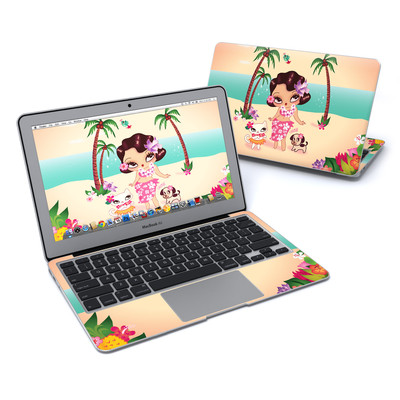 MacBook Air 11in Skin - Hula Lulu