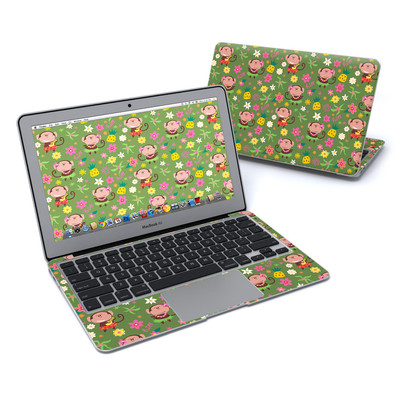 MacBook Air 11in Skin - Hula Monkeys