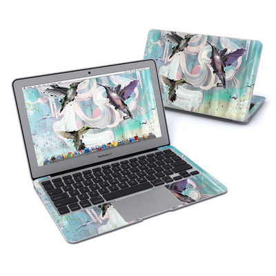 MacBook Air 11in Skin - Hummingbirds