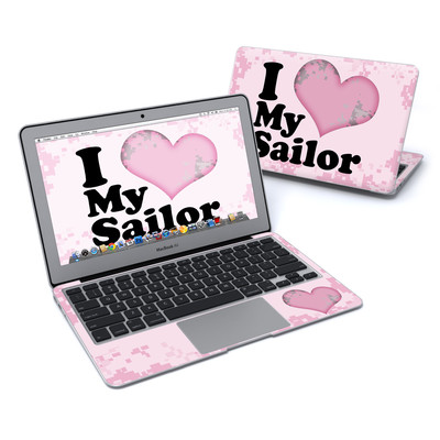 MacBook Air 11in Skin - I Love My Sailor
