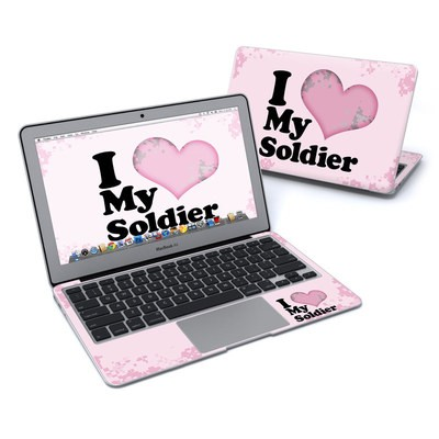 MacBook Air 11in Skin - I Love My Soldier