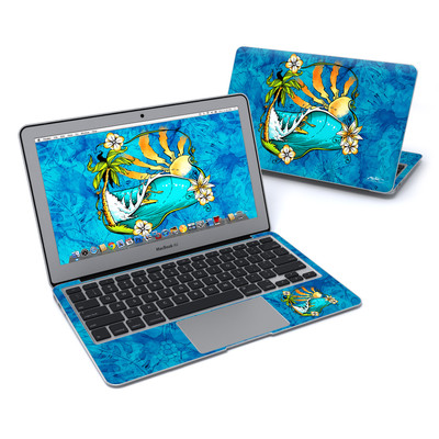 MacBook Air 11in Skin - Island Playground