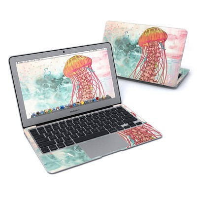 MacBook Air 11in Skin - Jellyfish