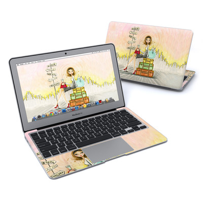MacBook Air 11in Skin - The Jet Setter