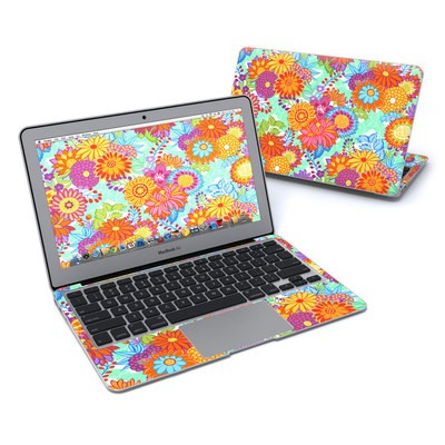 MacBook Air 11in Skin - Jubilee Blooms