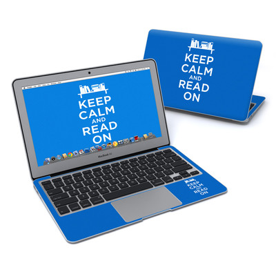 MacBook Air 11in Skin - Keep Calm - Read