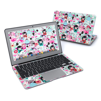 MacBook Air 11in Skin - Kimono Cuties