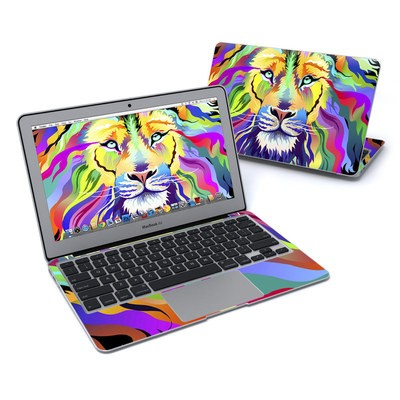 MacBook Air 11in Skin - King of Technicolor