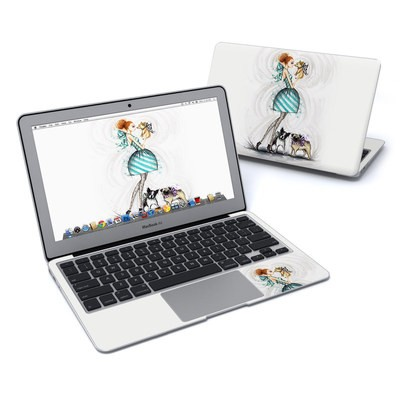 MacBook Air 11in Skin - A Kiss for Dot