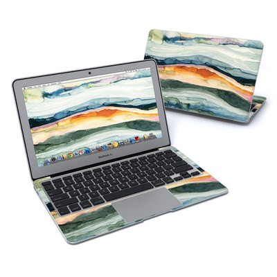 MacBook Air 11in Skin - Layered Earth
