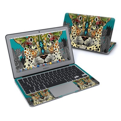 MacBook Air 11in Skin - Leopard Queen