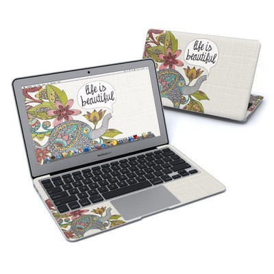 MacBook Air 11in Skin - Life is Beautiful