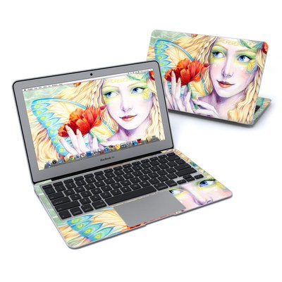 MacBook Air 11in Skin - Light of the Poppy